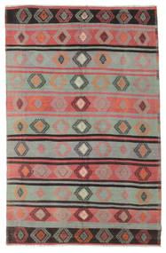 Kelim Halvt Antikke Tyrkiske Teppe 186X290 Ekte Orientalsk Håndvevd Lys Grå/Brun (Ull, Tyrkia)