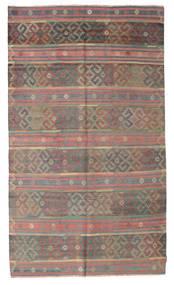 Kelim Halvt Antikke Tyrkiske Teppe 176X298 Ekte Orientalsk Håndvevd Lysbrun/Rosa (Ull, Tyrkia)