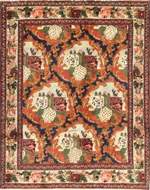 Senneh Teppe 123X159 Ekte Orientalsk Håndknyttet Mørk Brun/Rød (Ull, Persia/Iran)