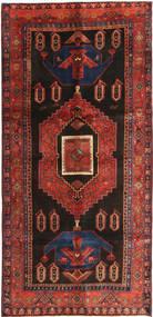 Koliai Teppe 135X290 Ekte Orientalsk Håndknyttet Mørk Rød/Svart (Ull, Persia/Iran)