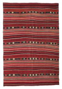 Kelim Halvt Antikke Tyrkiske Teppe 175X256 Ekte Orientalsk Håndvevd Mørk Rød/Rust (Ull, Tyrkia)