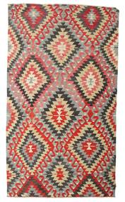 Kelim Halvt Antikke Tyrkiske Teppe 170X298 Ekte Orientalsk Håndvevd Lys Grå/Rust (Ull, Tyrkia)