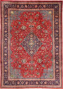 Mahal Teppe 212X310 Ekte Orientalsk Håndknyttet Mørk Rød/Rust (Ull, Persia/Iran)