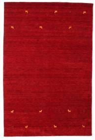 Gabbeh Loom Two Lines - Rød Teppe 190X290 Moderne Rød/Mørk Rød (Ull, India)