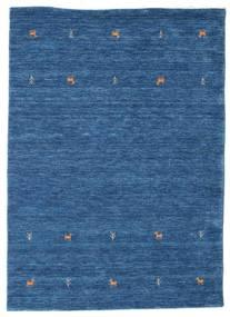 Gabbeh Loom Two Lines - Blå Teppe 140X200 Moderne Mørk Blå/Blå (Ull, India)