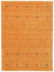 Gabbeh Loom Two Lines - Oransje Teppe 140X200 Moderne Orange (Ull, India)