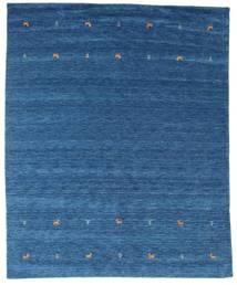 Gabbeh Loom Two Lines - Blå Teppe 240X290 Moderne Mørk Blå/Blå (Ull, India)