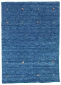 Gabbeh Loom Two Lines - Blå Teppe 160X230 Moderne Mørk Blå/Blå (Ull, India)
