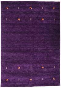 Gabbeh Loom Two Lines - Lilla Teppe 160X230 Moderne Mørk Lilla (Ull, India)