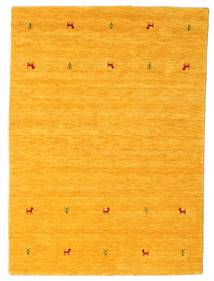 Gabbeh Loom Two Lines - Gul Teppe 140X200 Moderne Orange (Ull, India)