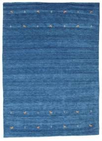 Gabbeh Loom Two Lines - Blå Teppe 240X340 Moderne Blå/Mørk Blå (Ull, India)