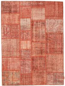 Patchwork Teppe 170X231 Ekte Moderne Håndknyttet Lyserosa/Rød (Ull, Tyrkia)