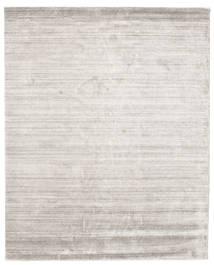Bamboo Silke Loom - Warm Grå Teppe 200X250 Moderne Lys Grå ( India)