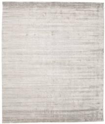 Bamboo Silke Loom - Warm Grå Teppe 250X300 Moderne Lys Grå Stort ( India)
