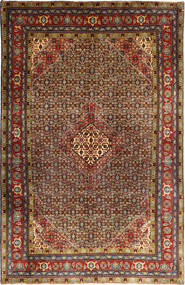 Ardebil Teppe 195X298 Ekte Orientalsk Håndknyttet Mørk Brun/Lysbrun (Ull, Persia/Iran)