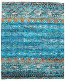 Quito - Turquoise Teppe 240X290 Ekte Moderne Håndknyttet Turkis Blå/Blå (Silke, India)
