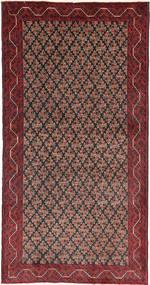 Beluch Teppe 100X190 Ekte Orientalsk Håndknyttet Mørk Rød/Mørk Brun (Ull, Persia/Iran)