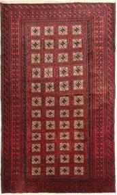 Beluch Teppe 110X190 Ekte Orientalsk Håndknyttet Mørk Rød (Ull, Persia/Iran)