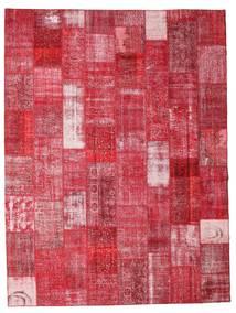 Patchwork Teppe 301X400 Ekte Moderne Håndknyttet Rød/Rust Stort (Ull, Tyrkia)