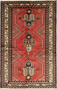 Saveh Teppe 130X195 Ekte Orientalsk Håndknyttet Lysbrun/Mørk Brun (Ull, Persia/Iran)