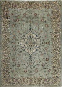 Keshan Patina Teppe 297X420 Ekte Orientalsk Håndknyttet Mørk Grå/Lys Grå Stort (Ull, Persia/Iran)
