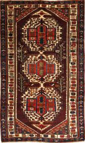 Bakhtiar Teppe 156X280 Ekte Orientalsk Håndknyttet Mørk Brun/Mørk Rød (Ull, Persia/Iran)