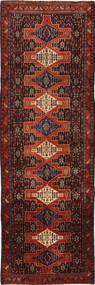 Senneh Teppe 163X514 Ekte Orientalsk Håndknyttet Teppeløpere Mørk Rød/Mørk Brun (Ull, Persia/Iran)
