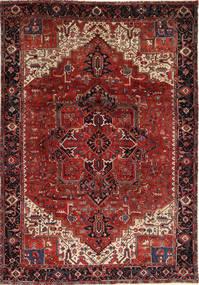 Heriz Teppe 260X372 Ekte Orientalsk Håndknyttet Mørk Rød/Mørk Brun Stort (Ull, Persia/Iran)