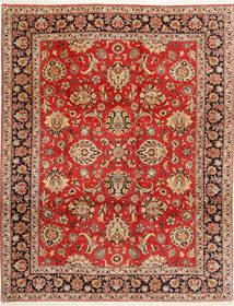 Bidjar Teppe 312X402 Ekte Orientalsk Håndknyttet Rust/Mørk Brun Stort (Ull/Silke, Persia/Iran)