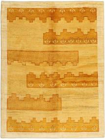 Gabbeh Persia Teppe 149X198 Ekte Moderne Håndknyttet Lysbrun/Orange (Ull, Persia/Iran)