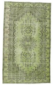 Colored Vintage Teppe 148X255 Ekte Moderne Håndknyttet Lysgrønn/Mørk Grønn (Ull, Tyrkia)