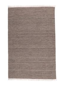 Melange - Brun Teppe 200X300 Ekte Moderne Håndvevd Lys Grå/Mørk Grå (Ull, India)