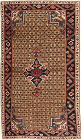 Koliai Patina Teppe 100X183 Ekte Orientalsk Håndknyttet Mørk Brun/Lysbrun (Ull, Persia/Iran)