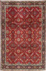 Koliai Teppe 208X321 Ekte Orientalsk Håndknyttet Mørk Rød/Mørk Brun (Ull, Persia/Iran)