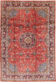 Sarough Teppe 215X317 Ekte Orientalsk Håndknyttet Mørk Rød/Rust (Ull, Persia/Iran)
