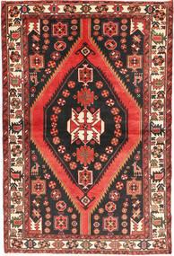 Bakhtiar Teppe 147X220 Ekte Orientalsk Håndknyttet Mørk Brun/Mørk Rød (Ull, Persia/Iran)