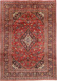 Mashad Teppe 201X290 Ekte Orientalsk Håndknyttet Mørk Rød/Mørk Brun (Ull, Persia/Iran)