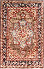 Koliai Teppe 198X308 Ekte Orientalsk Håndknyttet Mørk Rød/Mørk Brun (Ull, Persia/Iran)