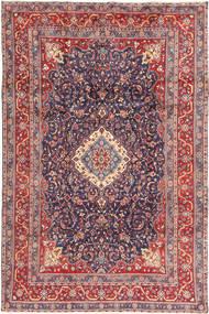 Hamadan Shahrbaf Teppe 205X316 Ekte Orientalsk Håndknyttet Mørk Grå/Rust (Ull, Persia/Iran)
