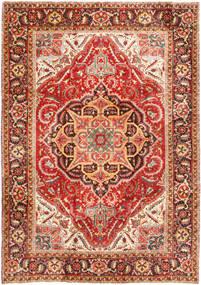 Heriz Teppe 232X330 Ekte Orientalsk Håndknyttet Rust/Mørk Brun (Ull, Persia/Iran)