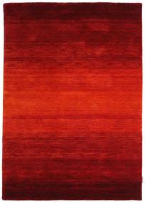 Gabbeh Rainbow - Rød Teppe 140X200 Moderne Rust/Mørk Rød (Ull, India)