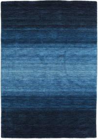 Gabbeh Rainbow - Blå Teppe 140X200 Moderne Mørk Blå/Blå (Ull, India)