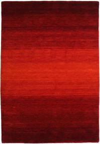 Gabbeh Rainbow - Rød Teppe 160X230 Moderne Rust/Mørk Rød/Mørk Brun (Ull, India)