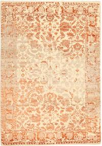 Roma Moderne Collection Teppe 203X297 Ekte Moderne Håndknyttet Mørk Beige/Beige ( India)