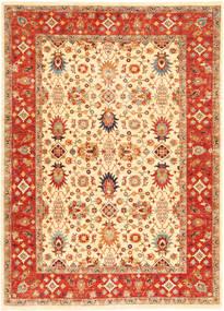 Ziegler Teppe 174X240 Ekte Orientalsk Håndknyttet Beige/Rød (Ull, Pakistan)