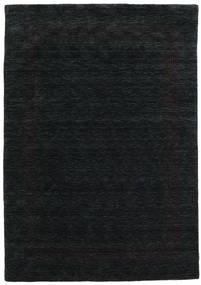 Handloom Gabba - Svart/Grå Teppe 160X230 Moderne Svart (Ull, India)