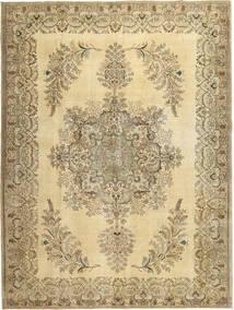 Colored Vintage Teppe 295X393 Ekte Moderne Håndknyttet Beige/Lysbrun Stort (Ull, Persia/Iran)
