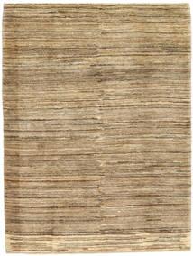 Gabbeh Persia Teppe 108X146 Ekte Moderne Håndknyttet Lysbrun/Mørk Beige (Ull, Persia/Iran)