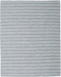 Kelim Long Stitch - Blå Teppe 240X300 Ekte Moderne Håndvevd Lys Grå/Lys Blå (Ull, India)