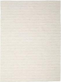 Kelim Long Stitch - Beige Teppe 290X390 Ekte Moderne Håndvevd Lys Grå/Beige Stort (Ull, India)